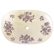 "15"" Staffordshire Platter Strainer"