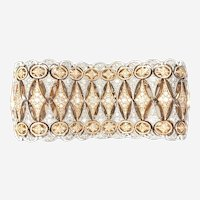 12 Carats Diamonds Bracelet 18kt Gold