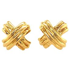 Tiffany & Co X Signature Earrings
