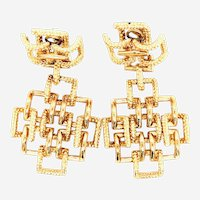 Tiffany & Co Vintage 18k Gold Earrings