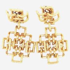 Tiffany & Co Vintage 18k Gold Earrings
