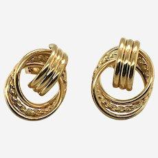 14k Gold Earring