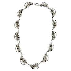 Vintage Danecraft Sterling Acorn necklace