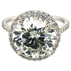 5.18ct Diamond Engagement Ring 18kt