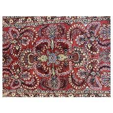 Persian,Iranian Sarouk Oriental rug  circa 1940's