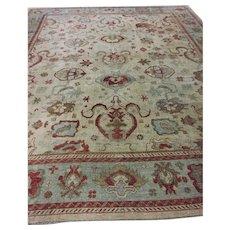 Oushak Turkish 13.10x17 oriental rug