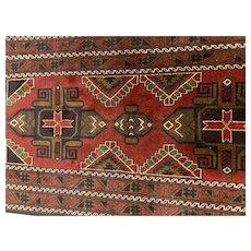 Balouch oriental rug Afghanistan 3.5x6.5
