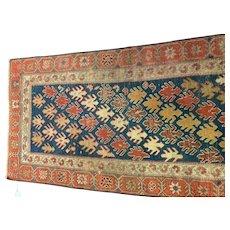 Turkish  Kazak runner Oriental rug 2.10x8