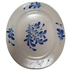 Rowe Pottery Teaberry Pattern Platter