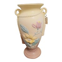 "21 - 12 1/2 Hull Art Pottery Magnolia 12 1/2"" Vase"