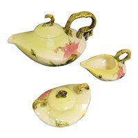 Vintage Hull Woodland Pattern Tea Set