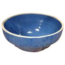 Vintage Blue Crock Bowl