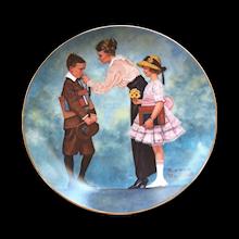 Decorator Plates Vintage