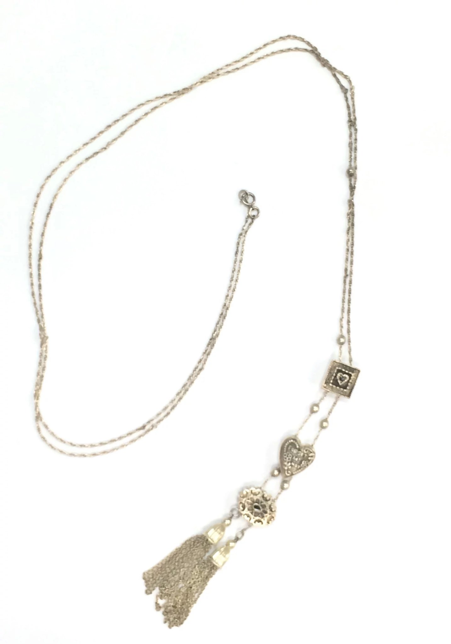 stone claire mini s pearl slider and necklace
