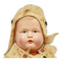Celluloid Doll as a Dutch boy, 8 inches