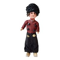 Armand Marseille 390 German Bisque Doll in Vollendam Costume, 10 inches
