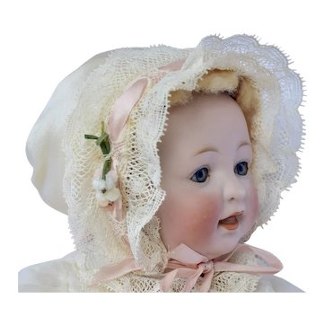 Kestner Sammy 211 Bisque Head Doll - Original Body, Skin, Wig and Clothes, 11 inches