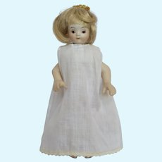 Porcelain Girl doll, 7 inches