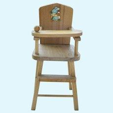 "1950's Strombecker 8"" Ginny High Chair"