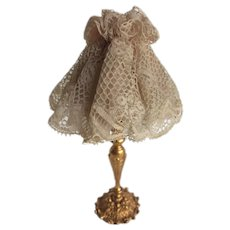 19th Century Dolls House  Lamp