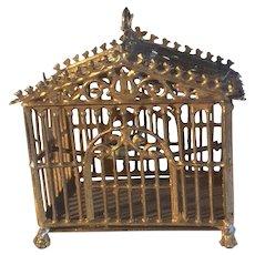 19th Century  Dolls  House  Bird Cage