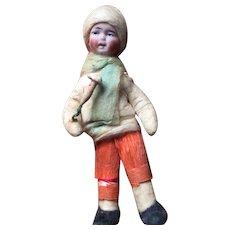 Heubach Cotton Bisque Figure