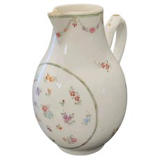 Chinese Export Famille Rose Cream Pitcher, Late 18th - Early 19th C