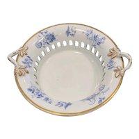 Two Copeland Garrett English Porcelain Chestnut Baskets, 1833 - 1847