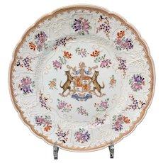 Samson Famille Rose Porcelain Plate, Late 19th C