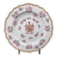 Samson Famille Rose Porcelain Plate, Early 20th C