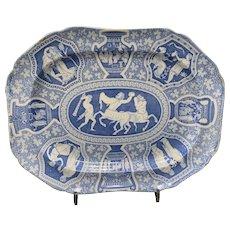 """Spode """"Greek Pattern"""" Platter Ca. 1806"""