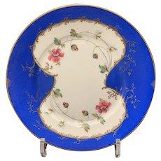 8 Touze, Lemaitre, Freres et Blancher Limoges Hand Painted Porcelain Luncheon Plates