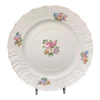 Herend Contemporary Decorative Charger with Roses