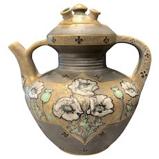 Turn-Teplitz Austrian Art Nouveau Paul Dachsel Amphora Teapot