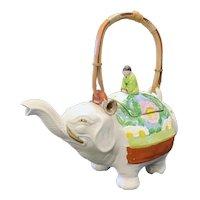 Japanese Art Deco Elephant Teapots Ca. 1925