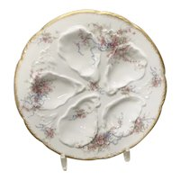 Haviland, Limoges, Oyster Plate, 19th C