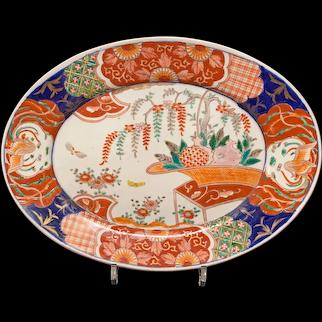 Japanese Imari Platter, Meiji, 19th C