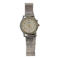 Forstner Komfit Mesh Watch Band ca. 1960's with TIME Men's Watch