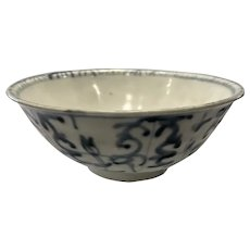 Chinese Swatow Bowl, Ming Dynasty