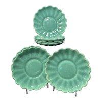 7 Catalina Pottery Rancho Green Salad Plates