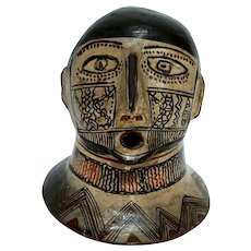 Amazon Jibarro Tribal Head