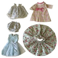 """Lot 8"""" doll size clothing"""