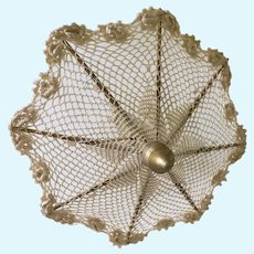 Doll size  working parasol
