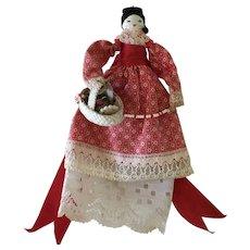 Clothespin peddler Doll vintage