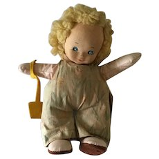 Old  commercially made Cloth doll