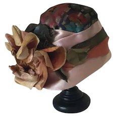 Antique 1920's Flapper  Doll Hat