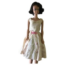 Midge Barbie family Doll wearing outfit #931 Garden Party from 1962-1963