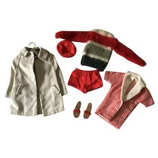 Lot of 1960's Ken Doll Clothing