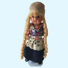 """Vintage 11""""  Cellluliod doll in costume of Holland"""