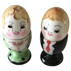 Vintage Salt & Pepper/ Egg Cups